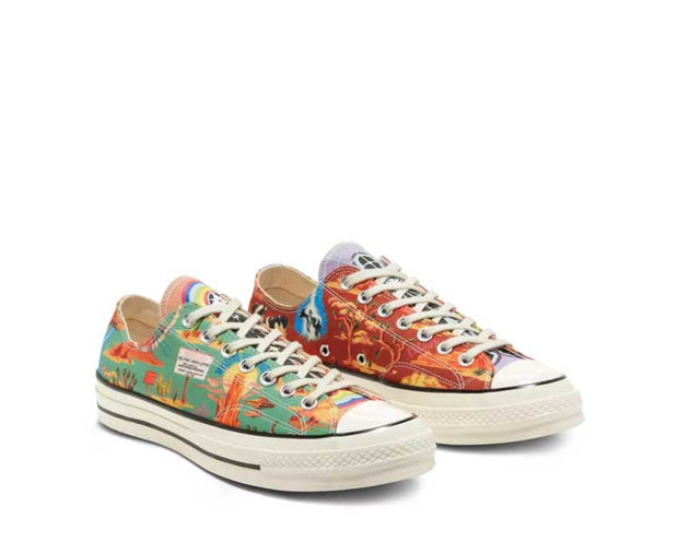 Converse CT70 Twisted Resort Egret / Multi / Black 167762C