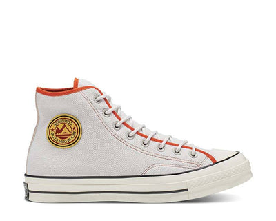 Converse East Village Explorer Chuck 70 High Top Pale Putty / Campfire Orange 165927C