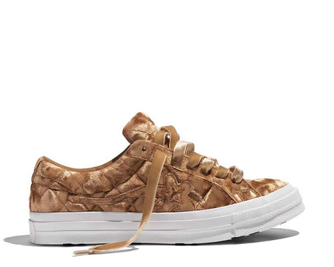 Converse Golf Le Fleur Velvet OX Brown Sugar