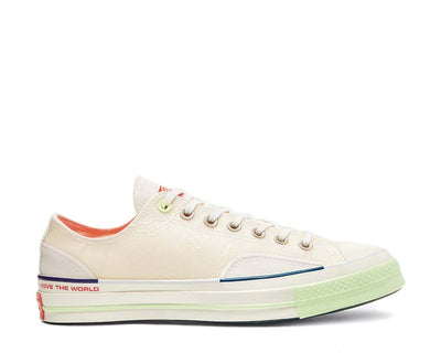 Converse Pigalle CT70 OX White / Vast Grey / Barely Volt 165748C
