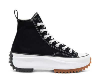 Converse Run Star Hike Hi Black / White / Black 166800C