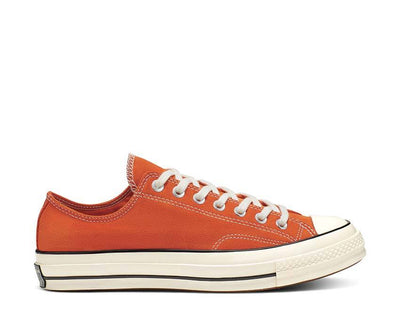 Converse Suede Chuck 70 Low Top Campfire Orange / Black / Egret 166217C