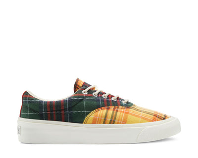 Converse Twisted Plaid Skid Grid Low Top Egret / Mutli 169218C