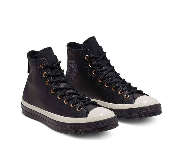 Converse Waterproof GORE-TEX Leather Chuck 70 High Top Black / Almost Black / Black 165923C
