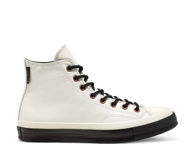 Converse Waterproof GORE-TEX Leather Chuck 70 High Top White Alyssum / Black / Egret 165924C