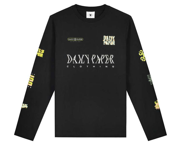 Daily Paper Heff Black 20S1LS01-01 long sleeve t-shirt
