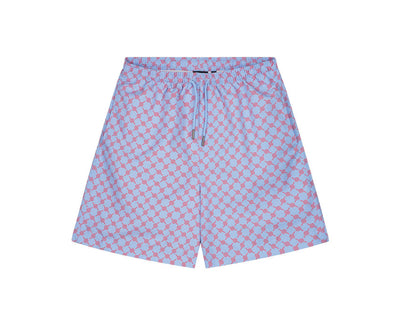 Daily Paper Kali Shorts Blue / Red Monogram 2111147