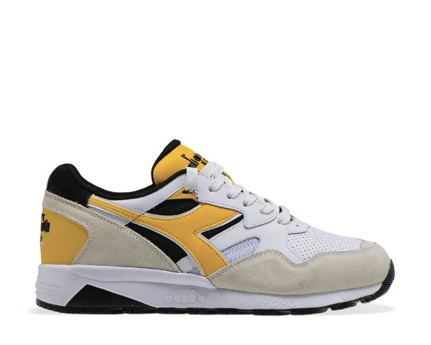 Diadora N9002 Beta Black / White / Banana 501.175498 01 C8224