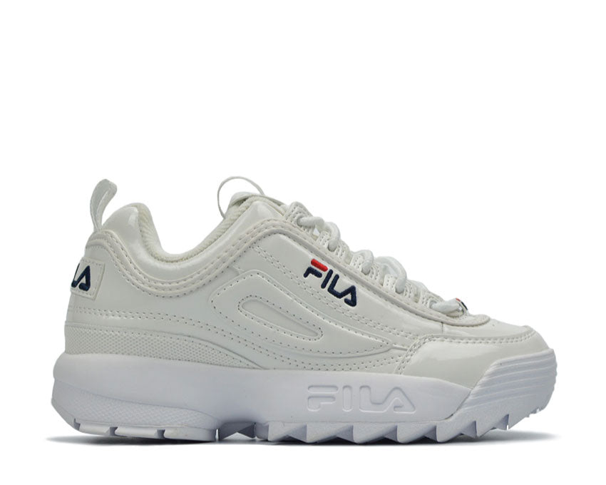 Fila Disruptor M Low White