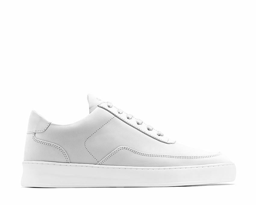 Filling Pieces Low Mondo Nardo Nubuck White Light Grey