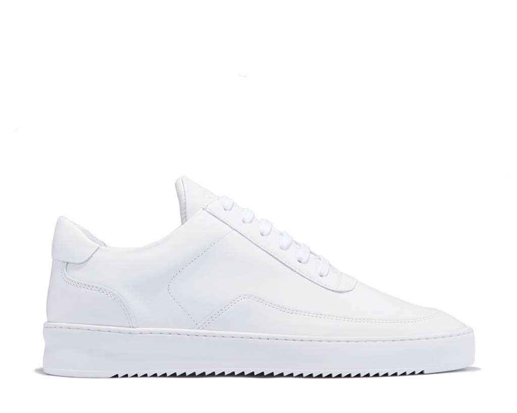 Filling Pieces Low Mondo Ripple Nardo White