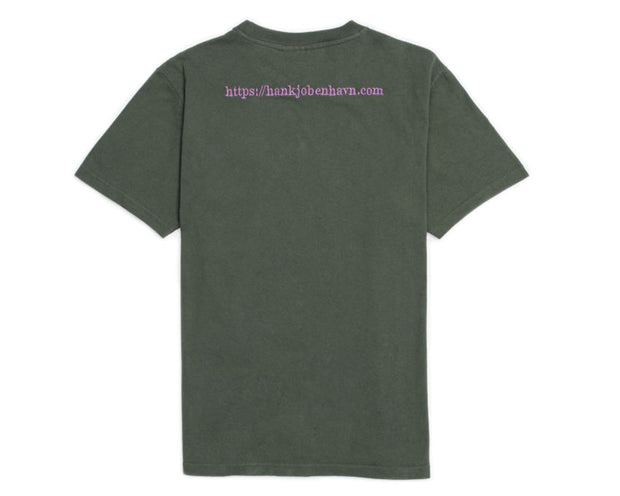 Han Kjobenhavn Artwork Tee Faded Army M-120063
