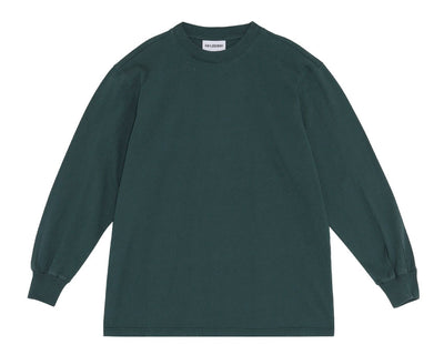 Han Kjobenhavn Boxy Tee Long Sleeve Social Resort Faded Green M130161