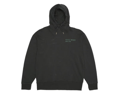 Han Kjobenhavn Bulky Hoodie Social Resort Faded Black M130155