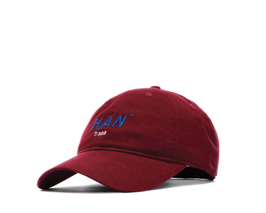 Han Kjøbenhavn Cap T-300 Cotton Burgundy Artwork A-110002