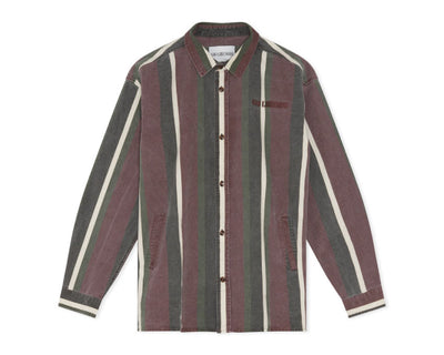 Han Kjobenhavn Shirt Jacket Dark Stripe M-130358