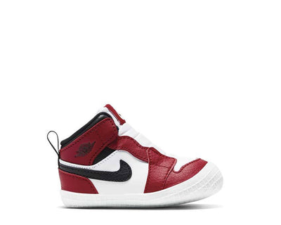 Jordan 1 Baby Cot Bootie White / Black - Varsity Red AT3745-163