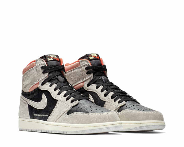 139747ae989548 ... Jordan Air Jordan 1 Retro High OG Neutral Grey Black Hyper Crimson  White 555088-018 ...
