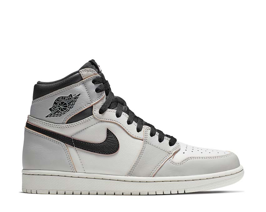 Nike Air Jordan 1 High OG Defiant Light Bone / Black - Crimson Tint - Hyper Pink CD6578-006