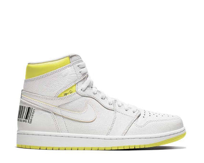 Jordan Air Jordan 1 Retro High OG White Dynamic Yellow Black 555088-170