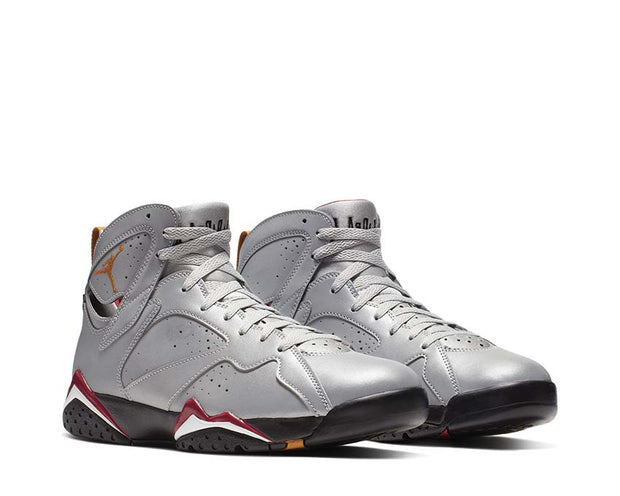Nike Air Jordan 7 Retro SP Reflect Silver / Bronze - Cardinal Red - Black BV6281-006