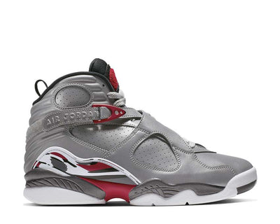 Nike Air Jordan 8 Retro SP Reflect Silver / Hyper Blue - True Red CI4073-001