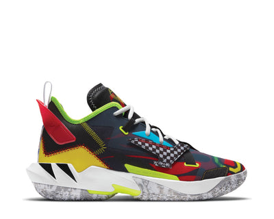 "Jordan Why Not? Zero.4 ""Marathon"" Black / University Red - Volt - Opti Yellow DD4889-006"