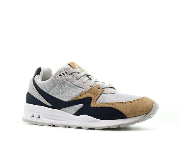 Le Coq Sportif R800 Retro Galet White Yellow Blue 1820393