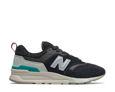 New Balance 997H Black / Mint Cream CM997HXS