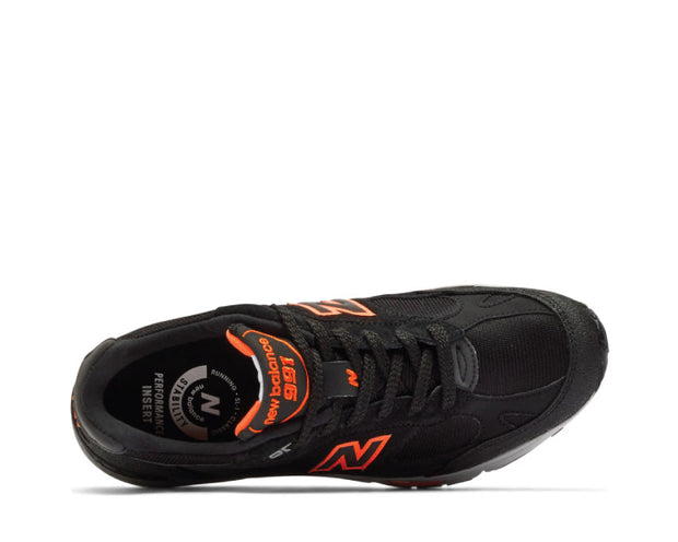 New Balance Made in UK 991 NEO Black / Orange M991NEO
