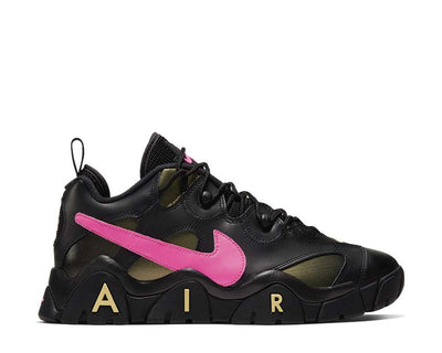 Nike Air Barrage Low QS Black / Pink Blast - Infinite Gold CT8454-001