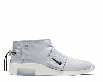 Nike Air Fear Of God Moc Pure Platinum Black Sail AT8086-001