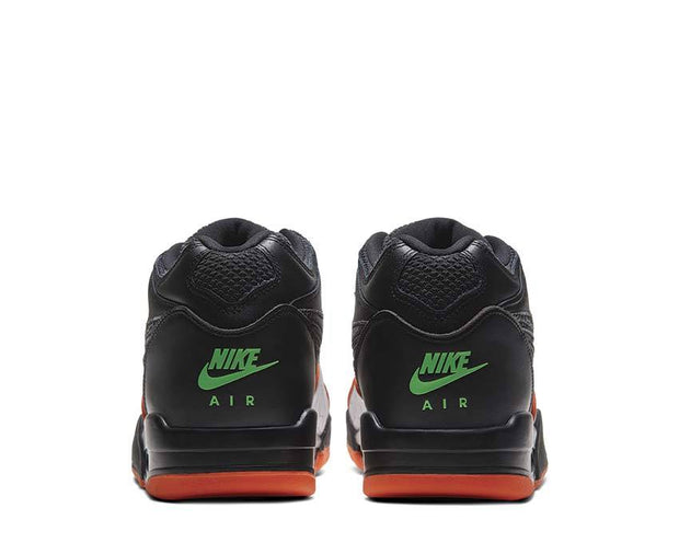 Nike Air Flight 89 QS Black / Orange Blaze - Green Strike - White CT8478-001