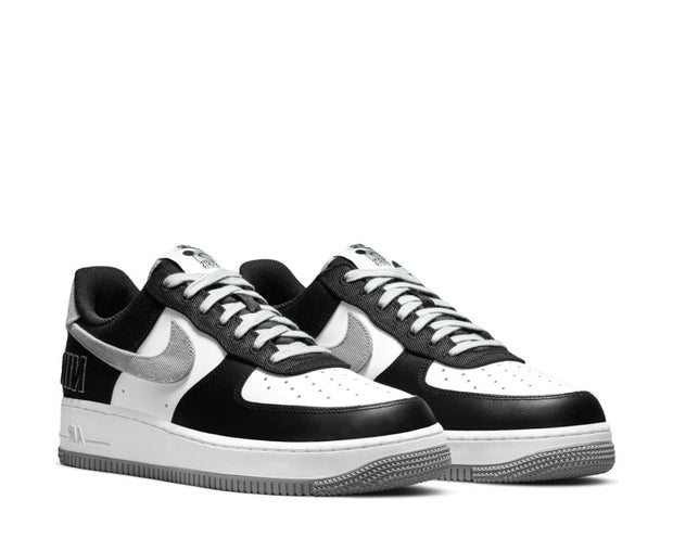 Nike Air Force 1 '07 EMB Black / Fat Silver - White - Pine Green CT2301-001
