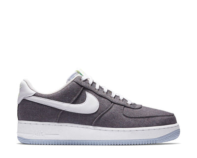 Nike Air Force 1 '07 Iron Grey / White - Barely Volt CN0866-002