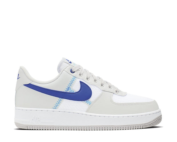 Nike Air Force 1 07' LV8 1 Atmosphere Grey Racer Blue Vast Grey CI0060-001