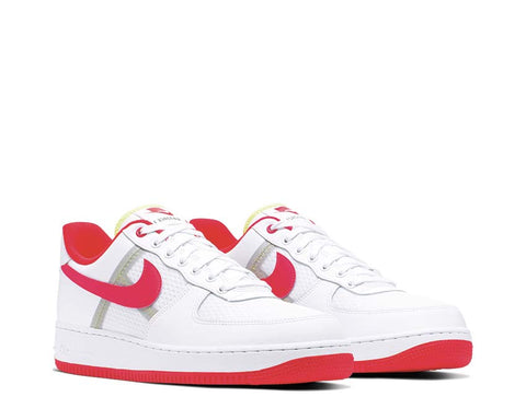 Nike Air Force 1 07' LV8 Transparent Crimson