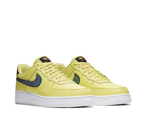 Nike Air Force 1 '07 LV8 3 Yellow Pulse Black White CI0064-700
