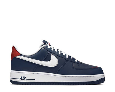 Nike Air Force 1 '07 LV8 4 Obsidian / White - University Red CJ8731-400