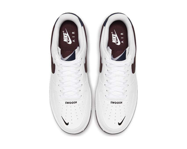Nike Air Force 1 '07 LV8 4 White / Night Maroon - Obsidian CJ8731-100