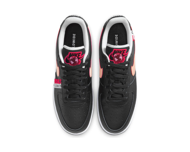 Nike Air Force 1 '07 LV8 Black / Crimson Tint - Flash Crimson - White CK6924-001