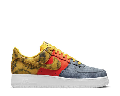 Nike Air Force 1 '07 LV8 Dark Sulfur / Dark Sulfur - Team Orange CZ0337-700