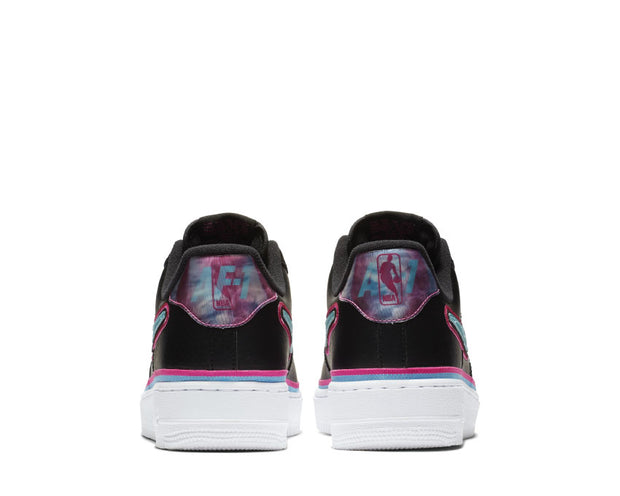 Nike Air Force 1 '07 LV8 Sport Black Blue Gale Laser Fuchsia White AJ7747-700