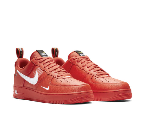 new products 9d79d 7d4ac ... Nike Air Force 1  07 LV8 Utility Team Orange