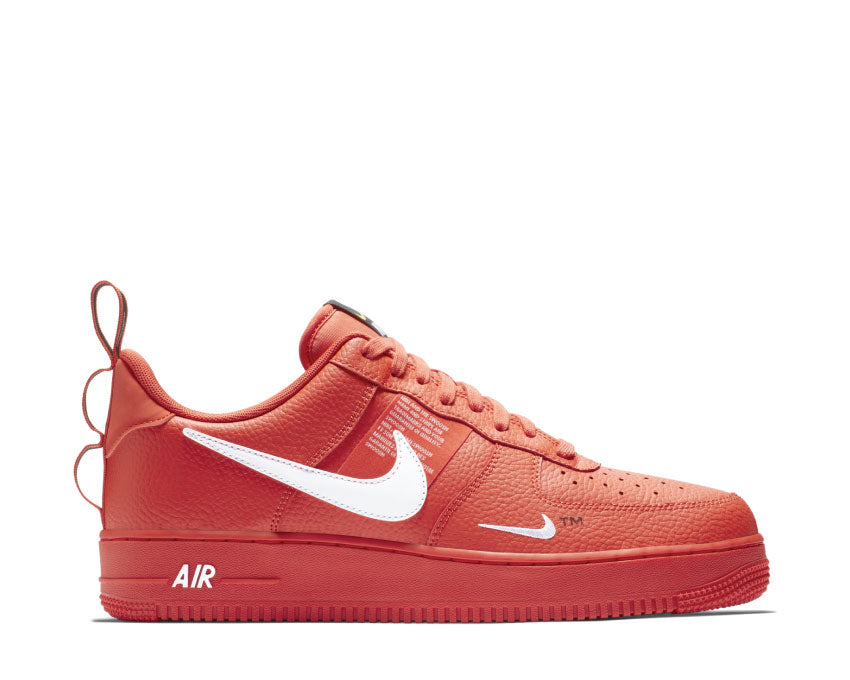 separation shoes discount sale promo code Nike Air Force 1 '07 LV8 Utility Team Orange