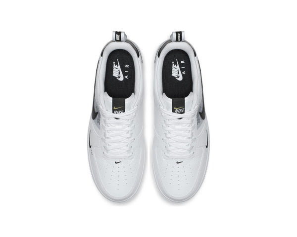 d1a432485cc ... Nike Air Force 1  07 LV8 Utility White White Black Tour Yellow AJ7747- 100 ...