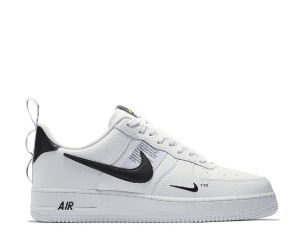 quality design 4d857 58e1b Nike Air Force 1  07 LV8 Utility White White Black Tour Yellow AJ7747-100  ...