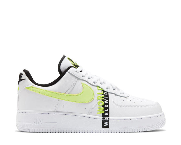 Buy Nike Air Force 1 '07 Worldwide Barely Volt CK6924-101 - NOIRFONCE