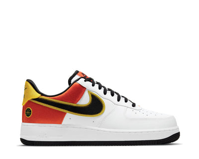 Buy the Nike Air Force 1 '07 LV8 White / Black - Orange Flash - Amarillo CU8070-100