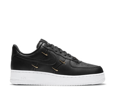 Nike Air Force 1 '07 LX Black / Black - Metallic Gold - Hyper Royal CT1990-001